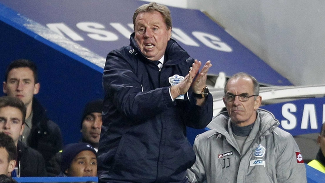 QPR boss Harry Redknapp will be rubbing his hands together at the prospect of working with the much-coveted  Christopher Samba