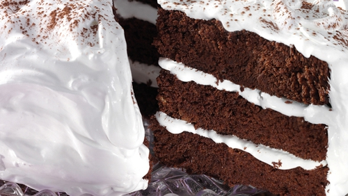 Devilish Chocolate Cake.