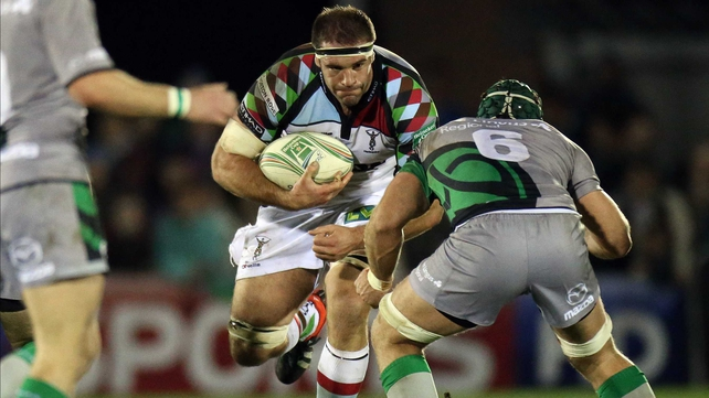 Olly Kohn has made over 130 appearances for Harlequins
