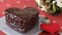 Valentine Chocolate sponge - A sumptuous recipe from Odlums for the perfect chocolate cake