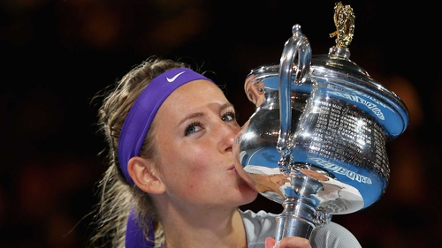 Victoria Azarenka - The world number one bounced back from a set down to retain her Australian Open title