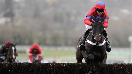 Still unbeaten over fences, Sprinter Sacre strolled home in the Victor Chandler