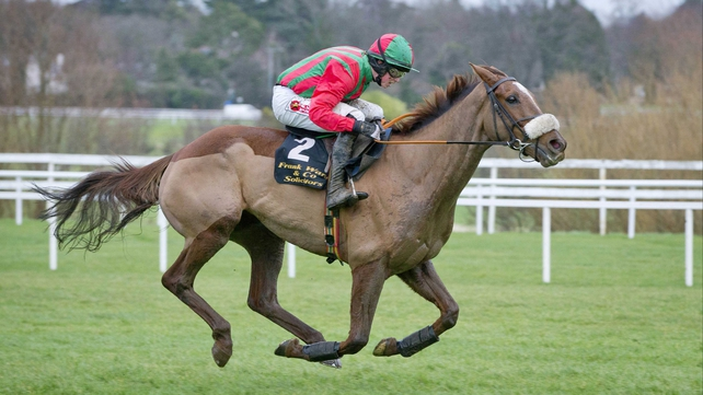Tony Martin has high hopes for Benefficient in the Ryanair Chase