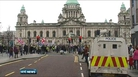 Belfast flag protest passes off peacefully