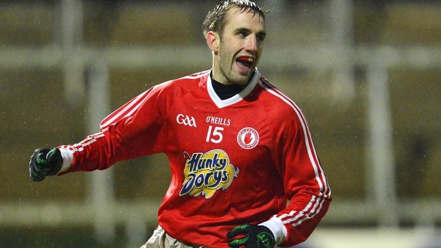 Mark Donnelly starts at corner-forward for Tyrone after a successful McKenna Cup campaign