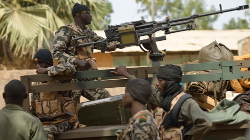 Malian troops have been advancing northwards since France intervened in the conflict