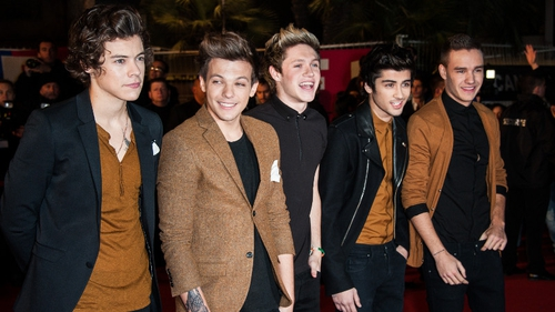 One Direction have been named Best Live Act as this year's Silver Clef Awards