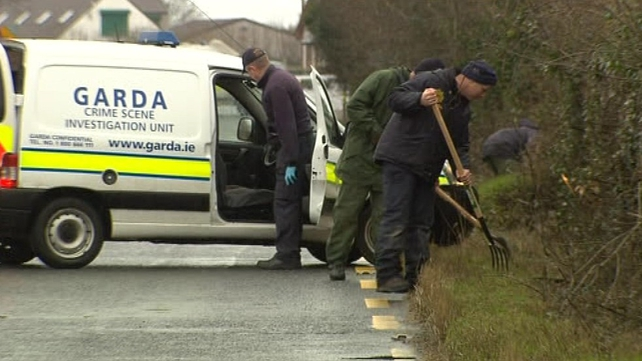 More than 100 gardaí are involved in the investigation