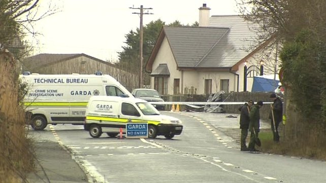 The shooting and robbery took place on Friday night in Co Louth