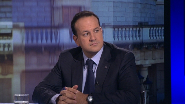 Leo Varadkar denied that Ireland's proposed solution had been rejected by the ECB