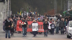 The anniversary march was the first since the PSNI said it was opening a new investigation into Bloody Sunday