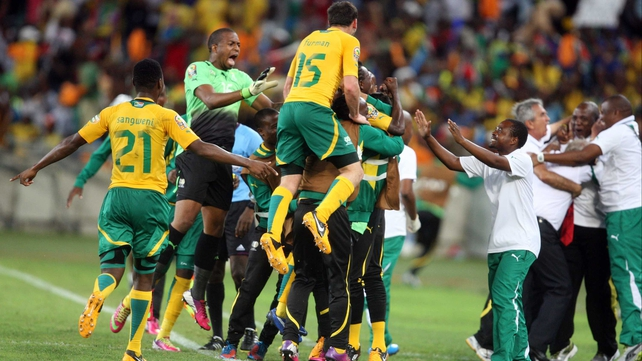 South Africa top group after draw with Morocco