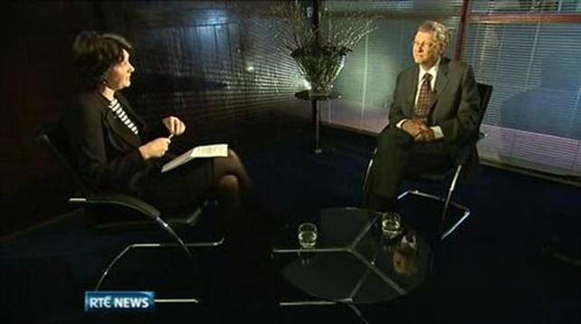 Presenter Keelin Shanley spoke to Bill Gates on the opening programme