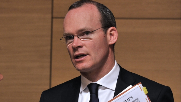 Simon Coveney said the move was needed to provide reassurance