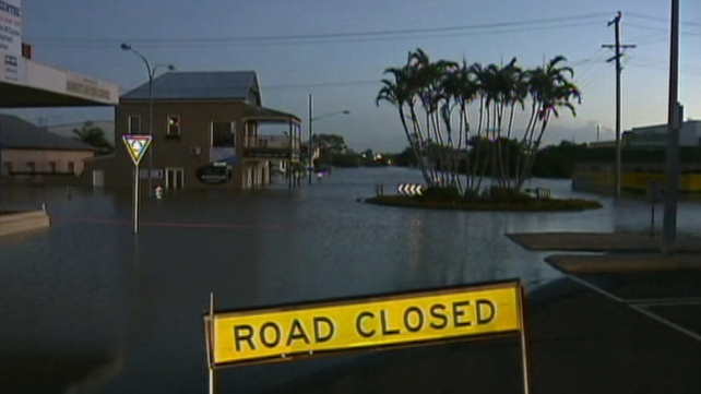 Record high waters have hit several areas in Queensland