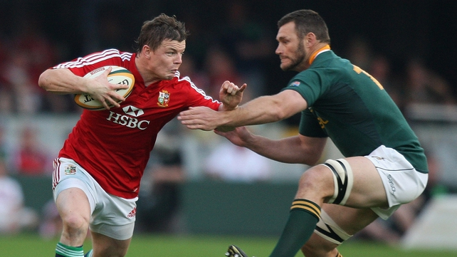 Brian O'Driscoll should be fit for Leinster's RaboDirect PRO12 final ahead of the Lions departure
