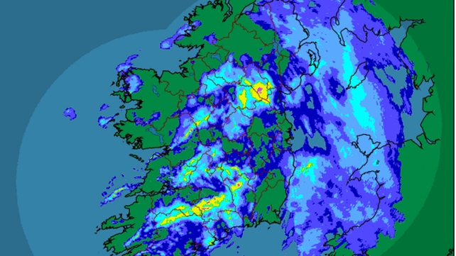 Met Éireann's station at Cork Airport recorded its wettest March in 17 years