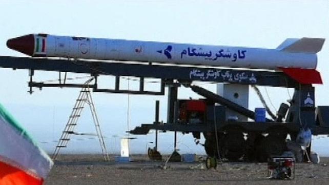 The monkey was sent up in a Kavoshgar rocket dubbed 'Pishgam' (Pioneer)