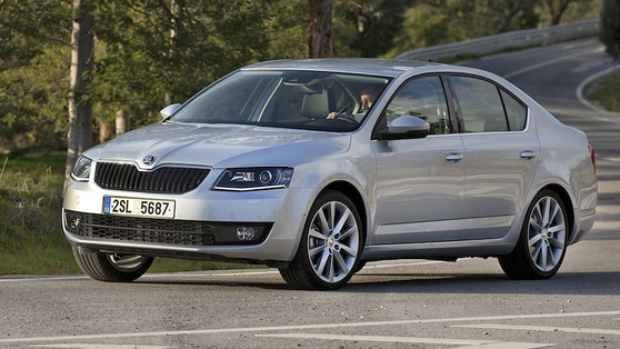 Škoda Octavia is built on the latest MQB platform