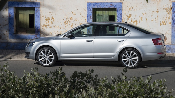 Škoda Octavia is a competent performer
