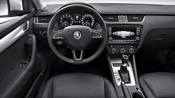 All the kit you can specify in the new Golf is available in the Škoda Octavia