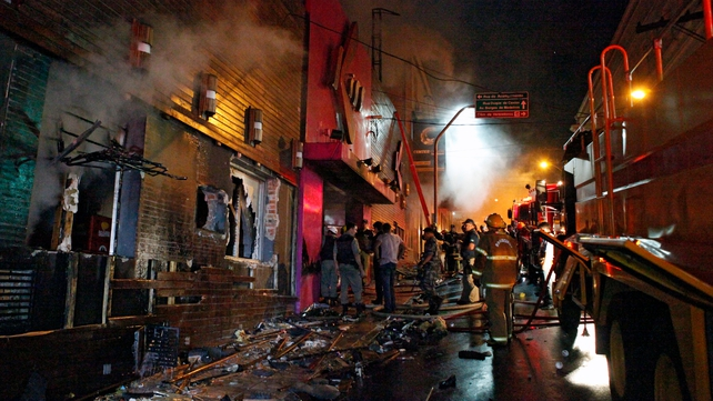 241 people died after fire in Santa Maria nightclub