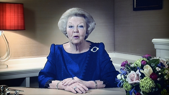 Queen Beatrix said she felt her son was ready to take over
