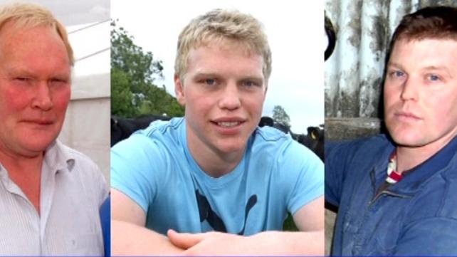 Noel, Nevin and Graham Spence died at their family farm last September