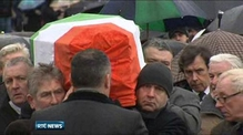 Funeral of Dolours Price in Belfast