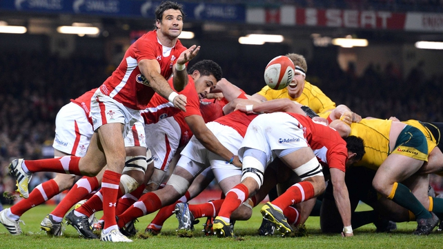Wales are looking for a much improved scrum during the Six Nations