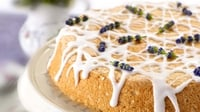 Angel food cake - Rachel recreates an American favourite, the heavenly Angel Food Cake