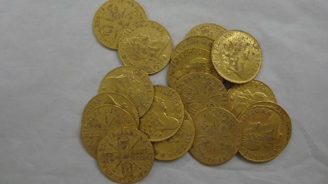 Coins dated to the reign of William III (All pics: Marie McMahon Curator South Tipperary County Museum, Clonmel)