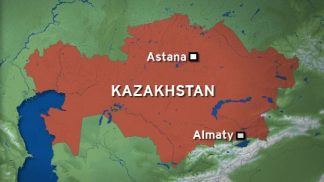 The plane crashed about 30km from Almaty