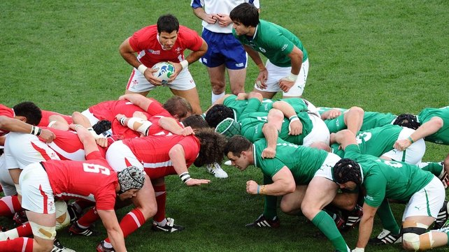 Wales feel Irish scrum is a point of weakness