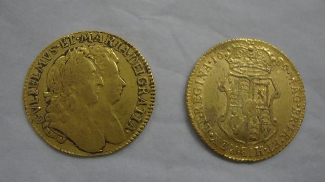 81 gold coins were found