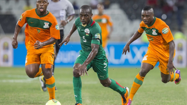 Zambia's Collins Mbesuma squandered the best chance of the match in Nelspruit