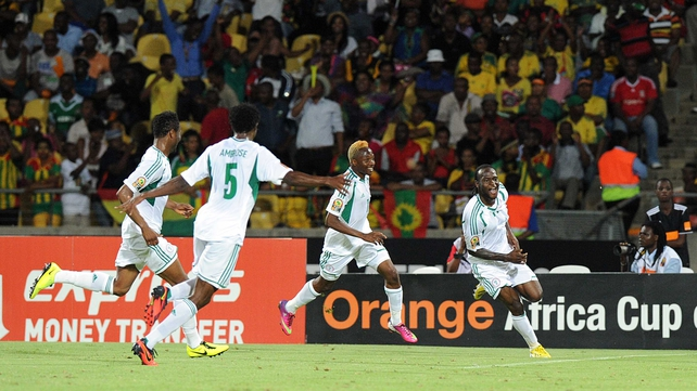 Victor Moses bagged a brace of goals in Rustenburg