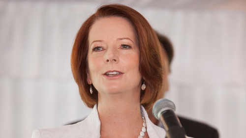 Polls suggest that if an election were held now, Julia Gillard's party would be swept from office