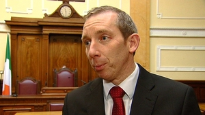 John Buttimer had welcomed the protesters into the chamber