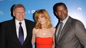 Robert Zemeckis, Kelly Reilly and Denzel Washington