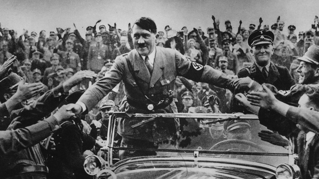 Hitler started writing 'Mein Kampf' in prison after his failed putsch of 1923