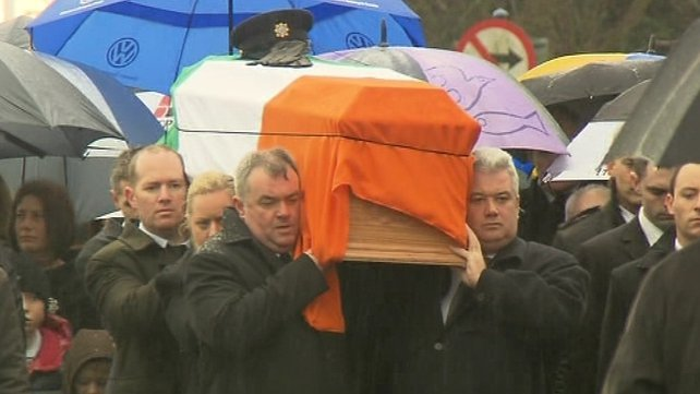 Detective Garda Adrian Donohoe was killed while on escort duty on Friday
