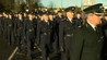 Gardaí turned out to pay tribute to their fallen colleague