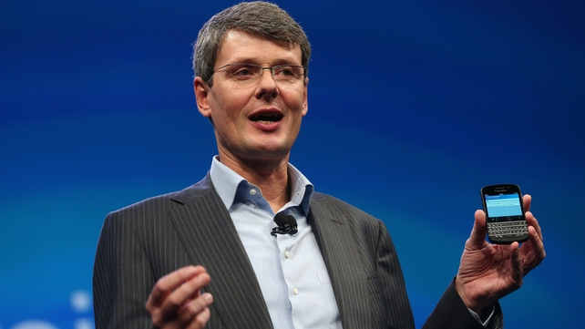 Blackberry CEO Thorsten Heins forms 'special committee' to look into the possibility of striking up new commercial partnerships or selling the company outright