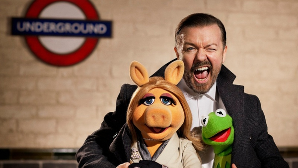 Ricky Gervais loves working with The Muppets