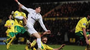 Bale slams home Spurs' leveller