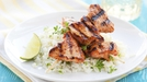 Turkey satay with basmati rice - Try this simple family meal, or quick meal for two, from Paul Flynn for RTÉ Today