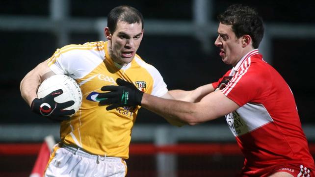Brendan Herron starts in the Antrim full-forward line