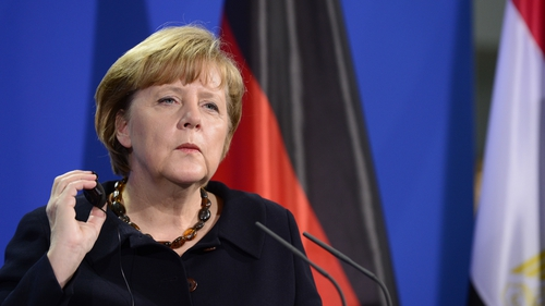 Angela Merkel said she wanted a clear commitment from the US that they would stick to German law in the future
