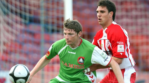 Denis Behan had a successful spell with Cork City before leaving for Hartlepool